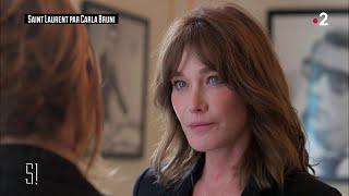 L'interview De Carla Bruni   Stupéfiant !