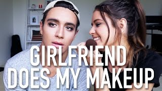 GIRLFRIEND DOES MY MAKEUP | Kholo.pk