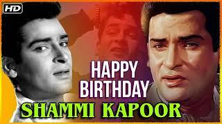 Happy Birthday To Shammi Kapoor Ji(Oct, 21,1931)