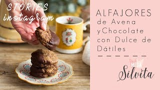 Cookies de Avena con Chocolate y Dulce de Dátiles - Receta Stories Megasilvita