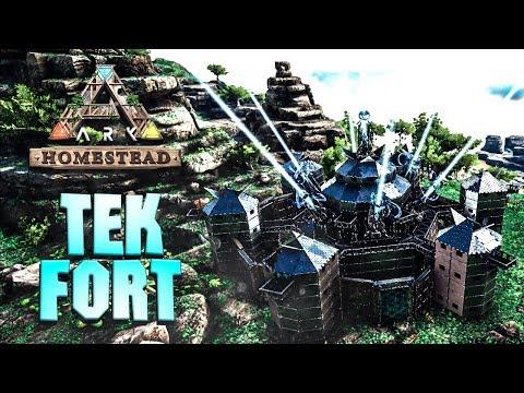 Ark: Extinction - Futuristic Tek Laboratory (Speed Build
