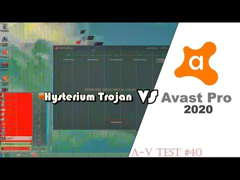 Avast VS Hysterium Trojan | A-V Test #40