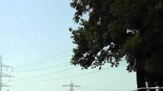 preview picture of video 'RC vrtulník MJX F645 (F45) - lietanie, Linkenheim, Nemecko'