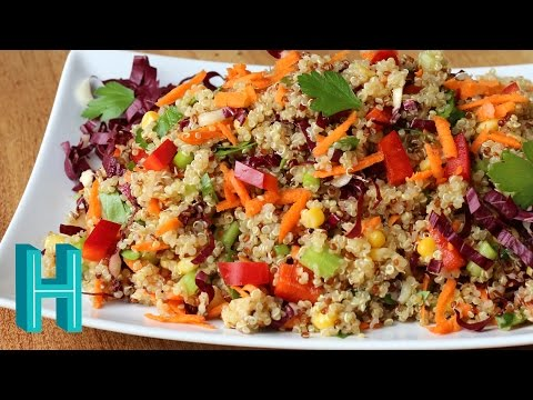 Video How to Make Rainbow Quinoa Salad Recipe |  Hilah Cooking