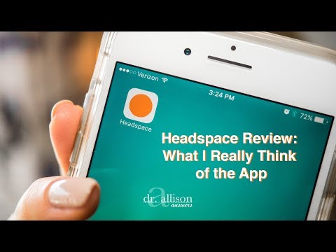Screenshot of video: Headspace App