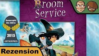 Broom Service (Kennerspiel des Jahres 2015) - Review