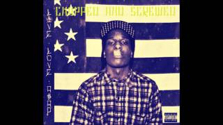 A$AP ROCKY - Houston Old Head Chopped And Screwed