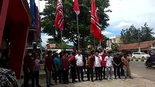 [BREAKING NEWS] Pengibaran Bendera Aceh di Hari Peringatan MoU ke 15
