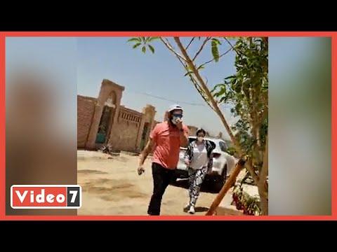 تقارير تكشف تفاصيل زيارة عائلة الراحل سمير غانم لقبره بعد أسبوع من وفاته... فيديو