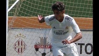 Israel Salazar • Real Madrid Cadete A • 20182019 HD