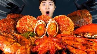 MUKBANG ASMRㅣFantastic! Spicy Mara Seafood Boil Eat?Korean Seafood 후니 Hoony Real Sound Eating Sound