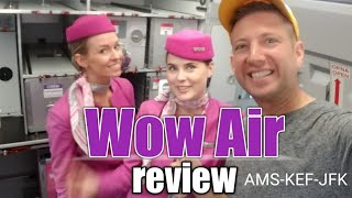 🛫WOW Airlines Review🎥| Amsterdam To NYC $140 O/w | You Know I Had To Try This Plane Out!