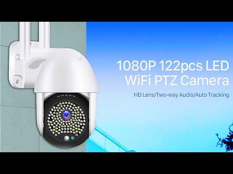 Anbiux WiFi PTZ Camera with Auto Tracking