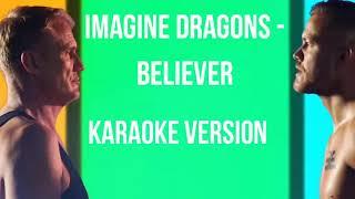 believer imagine dragons lyrics karaoke español - ฟรีวิดีโอ