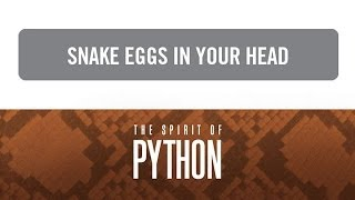 """Spirit of Python: Snake Eggs in Your Head"" with Jentezen Franklin"