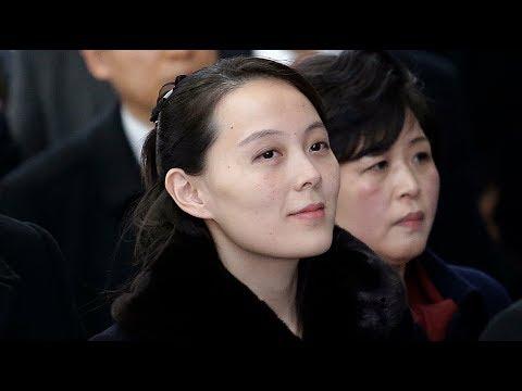 Kim Jong-un's sister arrives in South Korea