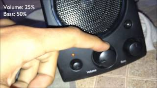Logitech z623 Sound Test (INSANE!!!)