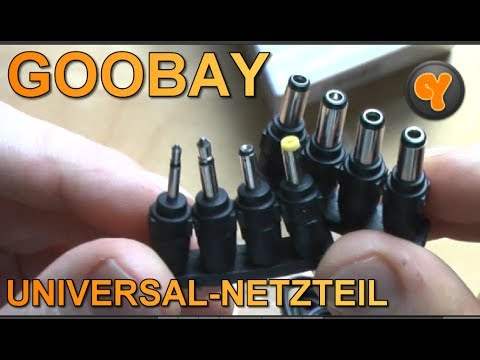 Unboxing/First Look: Goobay Universal-Netzteil NTS 1000 MW