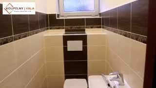 Rekonstrukce koupelny na klíč - www.koupelny-vala.cz