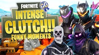 WHAT A CLUTCH!! - Fortnite: Battle Royale (Funny Moments)