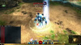GW2: Guardian DPS Benchmarks Scepter + Sword / Torch (unrealistic / realistic)