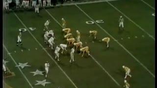 1971 NCAA Football Liberty Bowl Tennessee vs Arkansas