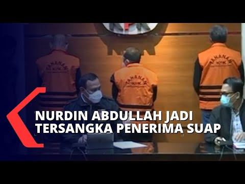 Ditetapkan Sebagai Tersangka, Nurdin Abdullah Ditahan Selama 20 Hari Pertama