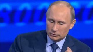 Путин vs Михаил Леонтьев. Прямая линия