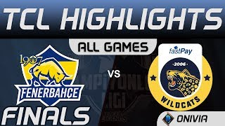 FB vs IW Highlights ALL GAMES Finals TCL Winter Split 2020 1907 Fenerbahce vs Istanbul Wildcats