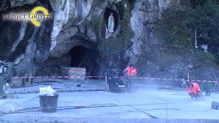 preview picture of video 'Mars 2015 : le point sur le Projet Grotte Cœur de Lourdes'