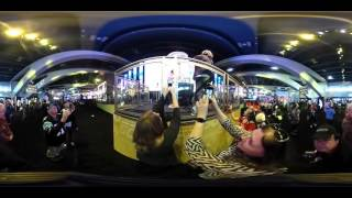 Tour the Super Bowl NFL Experience in 360-degree video