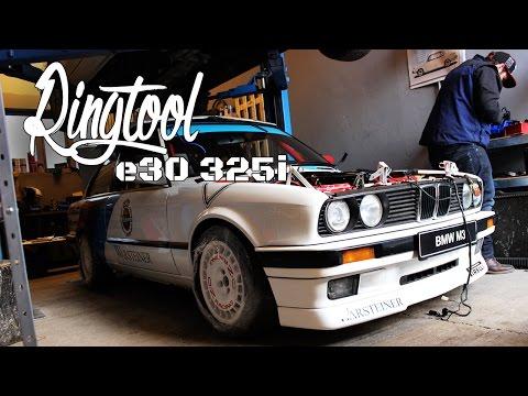 BMW e30 325i Ringtool - Teil 4//Fahrwerk, Felgen, Bremse, Auspuff