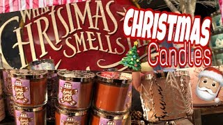 Bath And Body Works Christmas Candles 2018 Shopping