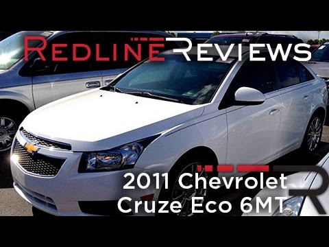 2011 Chevrolet Cruze Eco 6MT Review, Walkaround, Start Up & Rev