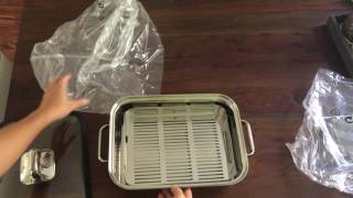 WMF Vitalis Stainless Steel Large Stovetop Steamer System - Unboxing & First Cooking Result