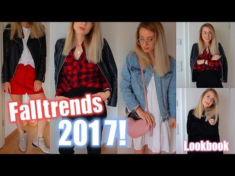Herbsttrends 2017! Lookbook, Rot Trend, Materialmix &&&