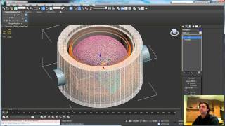Animating Creation in 3ds Max pt1: microphone barrel