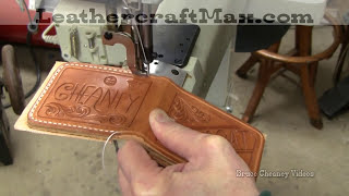 Leathercraft - Sewing Leather Wallet