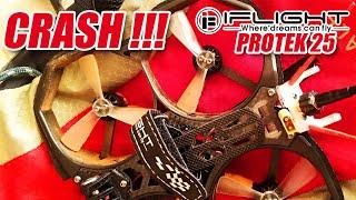 IFLIGHT PROTEK 25 CRASH..!!! | BELAJAR MAIN FPV DRONE PAKAI CINEWHOOP