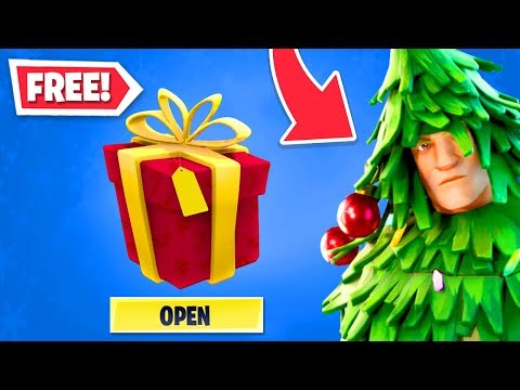 *FREE* SKINS for EVERYONE in Fortnite! (NEW Winterfest Update)