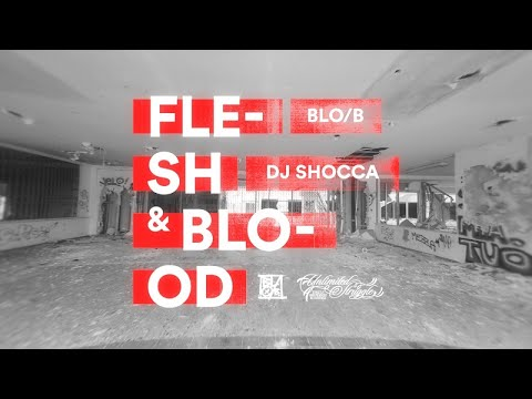 Blo/B - Flesh & Blood feat. Roc Beats aka DJ Shocca