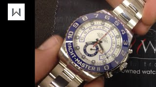 Rolex Yacht-Master II 116680 in Stainless Steel: Luxury Watch Review