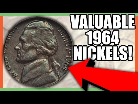 1964 NICKELS WORTH MONEY - RARE NICKELS WORTH MONEY TO LOOK FOR IN CIRCULATION!!