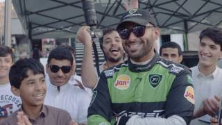 Yazeed Al Rajhi in Hail Rally 2017