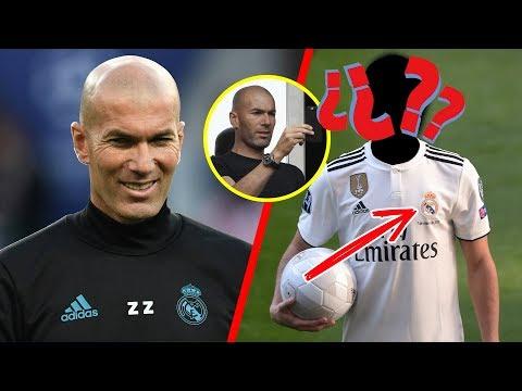 Zidane ya amarró la primer BOMBA del Real Madrid ¡Con una LLAMADA TELEFÓNICA!