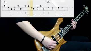 A Ha   Take On Me (Bass Cover) (Play Along Tabs In Video)