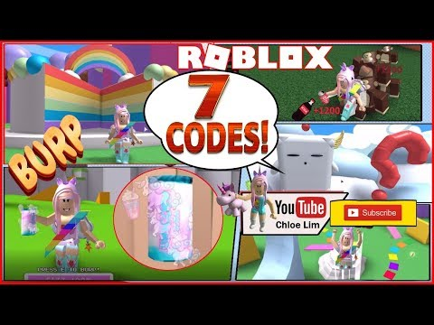 Roblox Gameplay Soda Drinking Simulator Jungle Update 7 New Codes Monkeys And Unicorn Soda Loud Warning