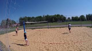 Пляжный волейбол - игровая тренировка 2018