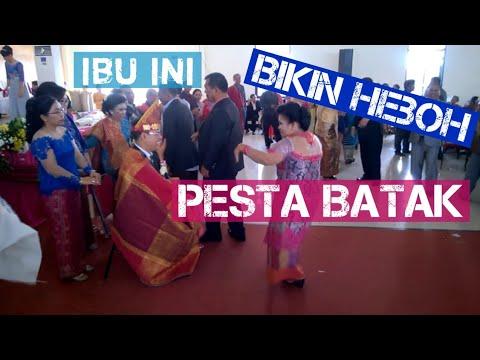 Video Wanita ini Bikin Heboh Pesta Pernikahan Batak