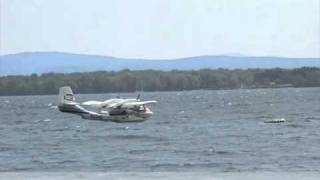 preview picture of video 'UC-1 Twin Bee - Twin-engine Seaplane Flyby'